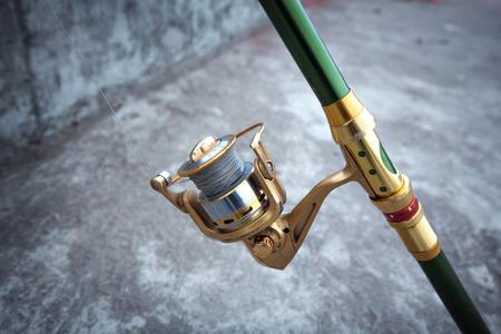 Fishing pole: fishing pole