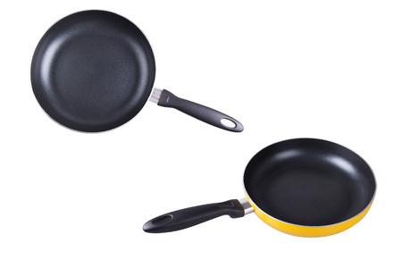 frying: Frying pan Stock Photo