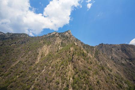 sequias: montaña de la sequía