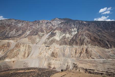 sequias: cañón de la sequía
