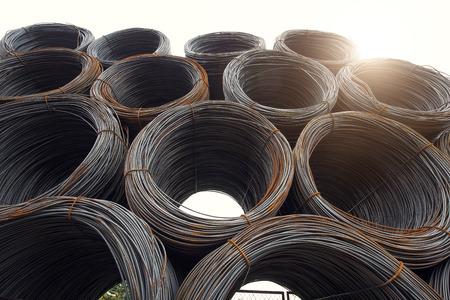 steel: Steel wires Stock Photo
