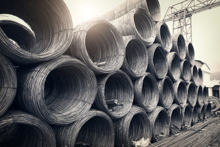 Steel wires Reklamní fotografie