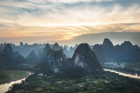 Landscape in yangshuo china