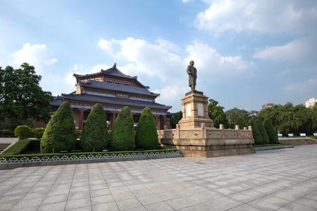 guangzhou,china - july,23,2016:Sun yat sen memorial hall in guangzhou china. Editorial