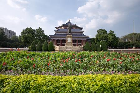 sen: guangzhou,china - july,23,2016:Sun yat sen memorial hall in guangzhou china. Stock Photo