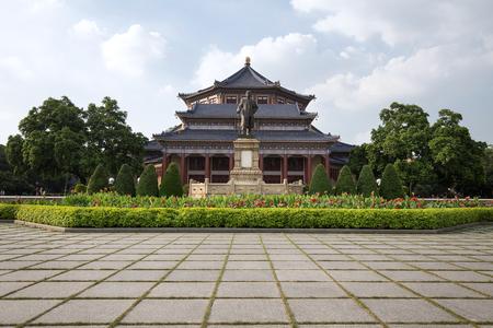 yat sen: guangzhou,china - july,23,2016:Sun yat sen memorial hall in guangzhou china. Stock Photo