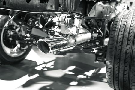 modern car's pipe object