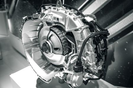 part of the car's engine Foto de archivo