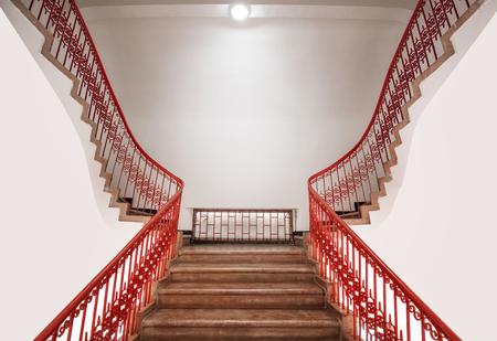 Escadas no antigo edifício Foto de archivo - 94356043