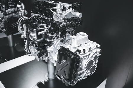 Part of the cars engine