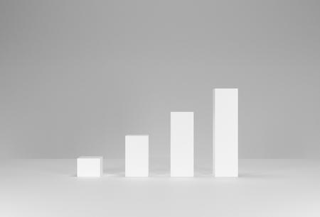 3D render data growth graph