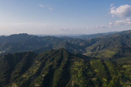 mountains in xijiang guizhou china