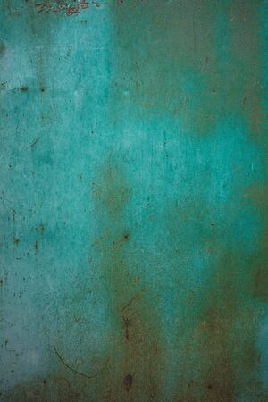 blue old rust metal background