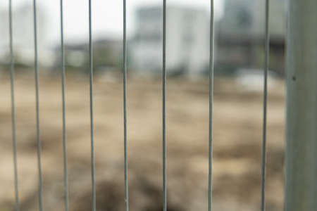 fence to a constructionsite