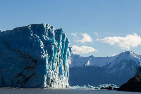 Perito Moreno glacier Argentina seen from a boat Stock Photo - 22116118