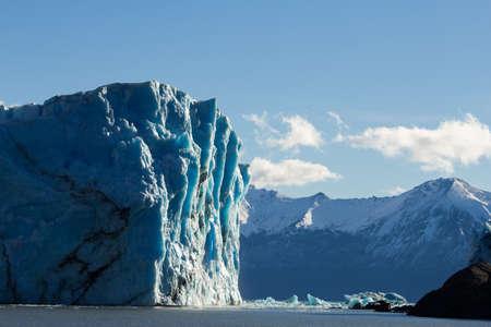icescape: Perito Moreno glacier Argentina seen from a boat
