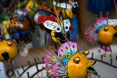 Trinkets for sale in Bali in Indonesia