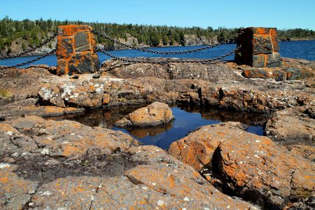 rock formation: Rock formation at Lake Superior.