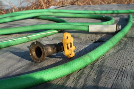 Water valve Reklamní fotografie