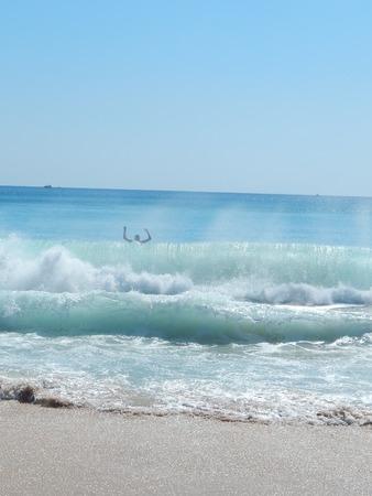 granola: gran ola para la nataci�n
