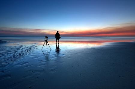 captured: beautiful sunset, captured in Kudat Sabah