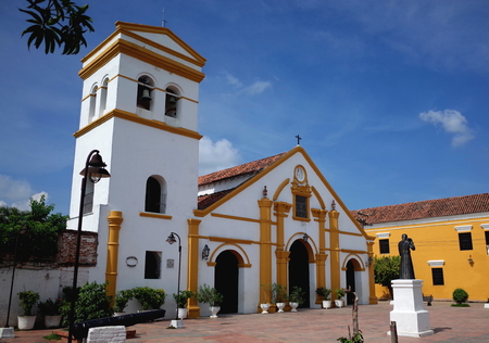 Santo Domingo Church in Mompox, Colombia