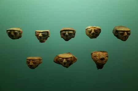 marta: Pre-Columbian pottery from Colombia Stock Photo
