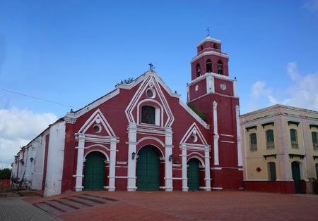 San Francisco Church in Mompox, Colombia Stock Photo