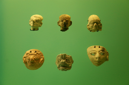 Pre-Columbian pottery from Colombia Stock Photo