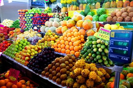 Paloquemao Market, Bogota, Colombia Фото со стока