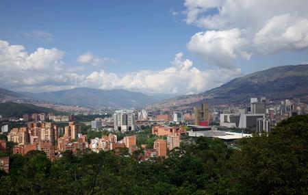medellin: Medellin skyline, Colombia Stock Photo