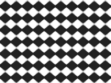 vibrating: Vibrating Black and White Checkerboard Pattern Illustration Stock Photo