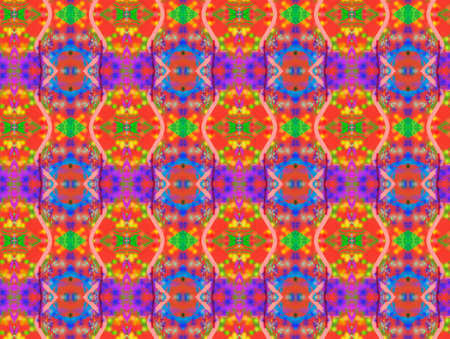 odd: Background pattern of odd shapes and colors Stock Photo