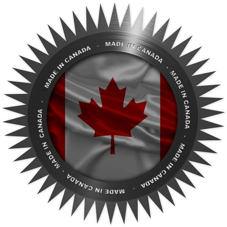made: Made in Canada Stock Photo