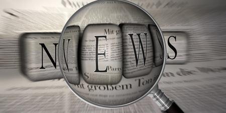 news reporter: News