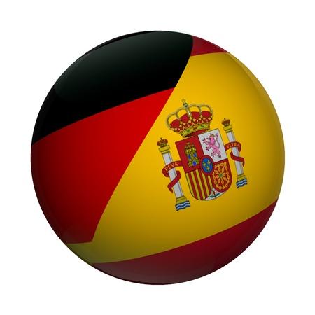 GERMAN <=> SPANISH Stock Photo - 9880198