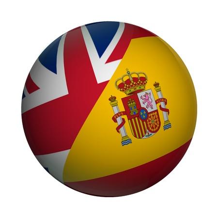 ENGLISH  SPANISH Reklamní fotografie