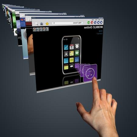 Obrazovka Reklamní fotografie