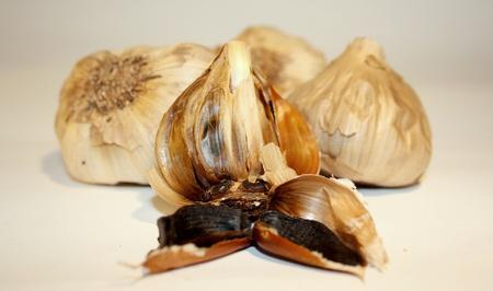 Black Garlic Stock Photo
