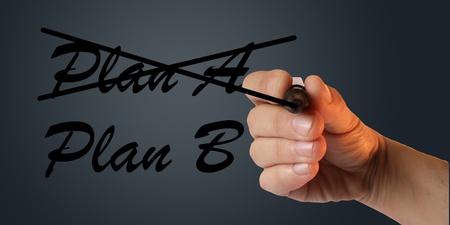 Plan Stock Photo