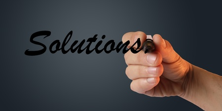 Solutions Stock Photo - 10661771