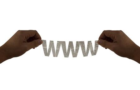 manos: www Stock Photo