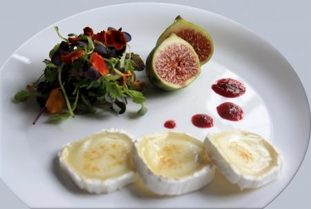 Flower salát s kozím sýrem Reklamní fotografie
