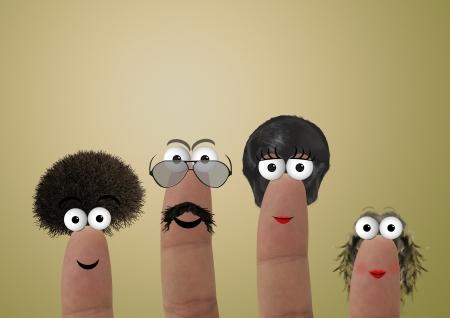 manos: Finger family