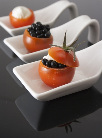 Molecular gastronomy  Stock Photo