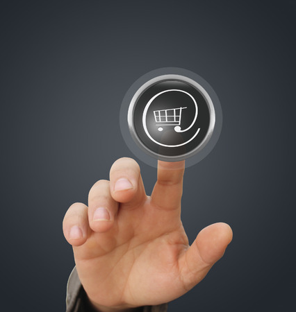 Finger Touch interactive button