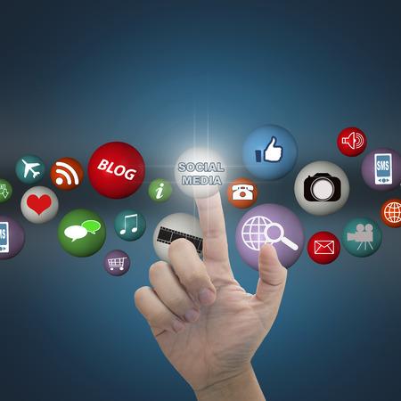 electronic commerce: Social media