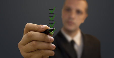 ecart: Quality control Stock Photo