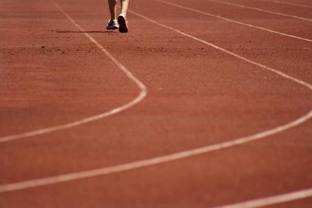 jogging track: Run on track