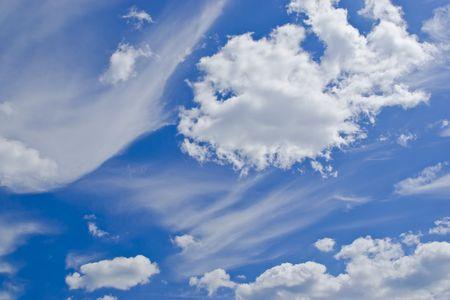 clouds on blue sky Stock fotó